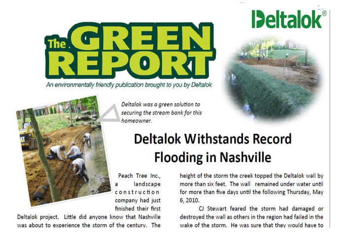 Deltalok Green Report - Dec 2012